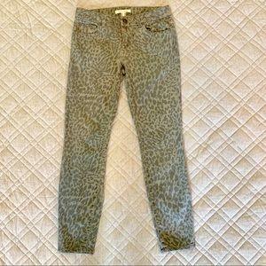 🦋 Life in Progress Skinny jeans gray animal print